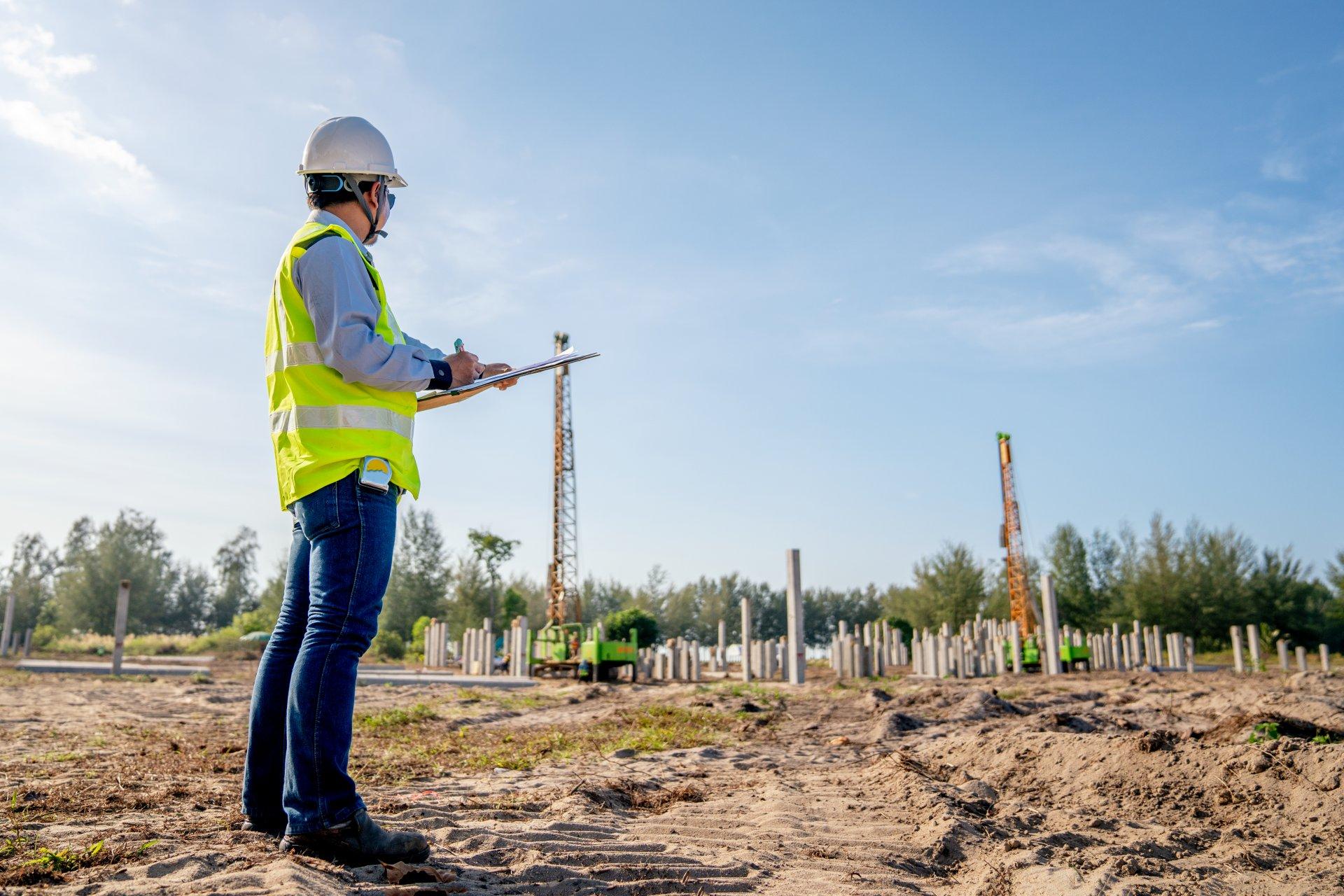 Qualitätssicherung und Baustellenüberwachung
